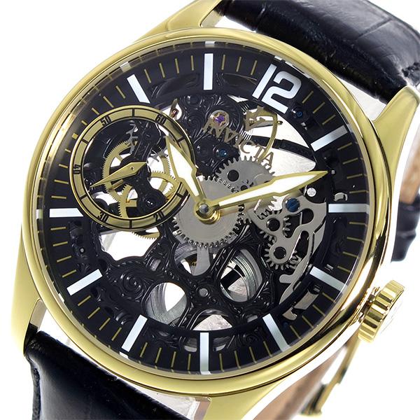 インヴィクタ INVICTA 手巻き メンズ 腕時計 12405 ブラック【送料無料】