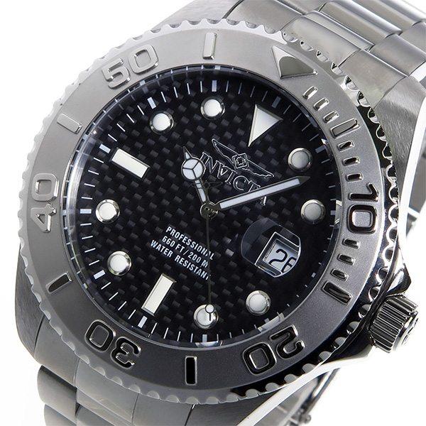 インヴィクタ INVICTA クオーツ メンズ 腕時計 15173 ブラック【送料無料】