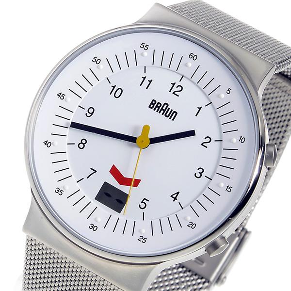 ブラウン BRAUN クオーツ メンズ 腕時計 BN0087WHSLMHG ホワイト【送料無料】
