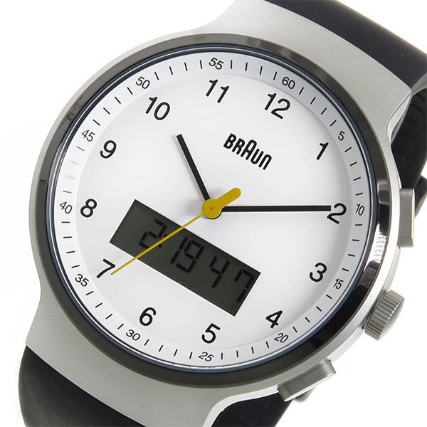 ブラウン BRAUN クオーツ メンズ 腕時計 BN0159WHBKG ホワイト【送料無料】