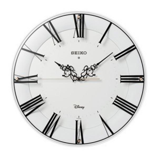 セイコー SEIKO ディズニータイム 電波掛け時計 FS506W ホワイト【送料無料】