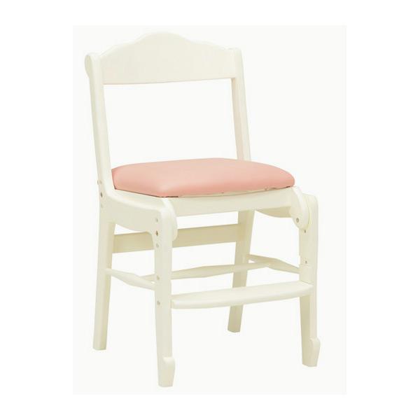 チェアー イス 椅子 RC-1853WH 4934257227537 ホワイト 代引き不可【送料無料】