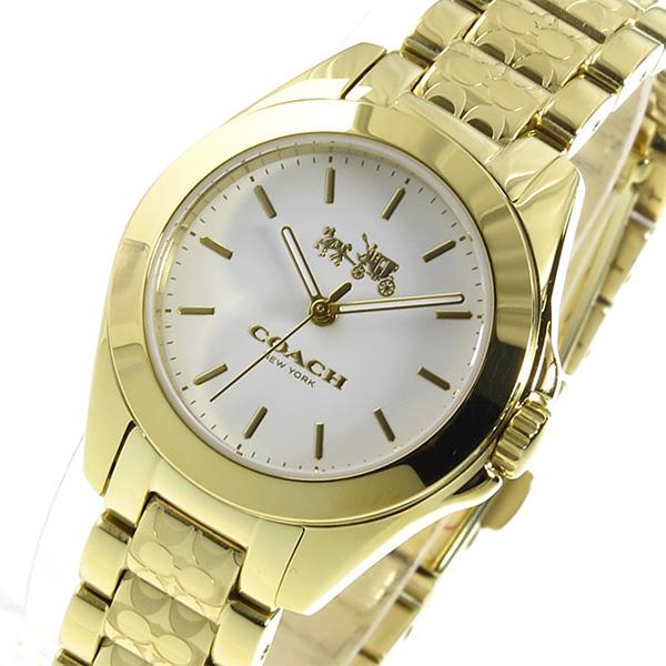 コーチ COACH トリステン クオーツ レディース 腕時計 14502184 ホワイト【送料無料】