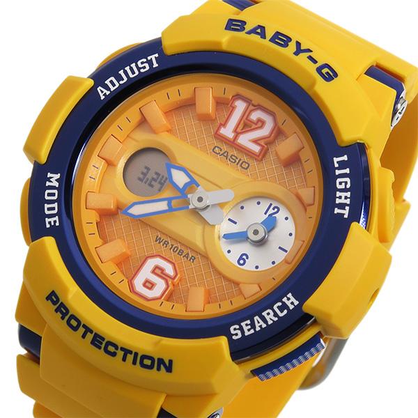 カシオ ベビーG BABY-G クオーツ レディース 腕時計 BGA-210-4B オレンジ【送料無料】