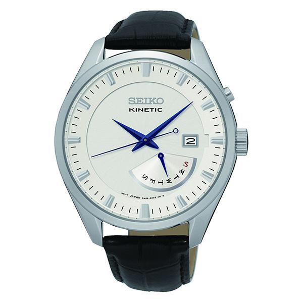 セイコー SEIKO キネティック クオーツ メンズ 腕時計 SRN071P1 シルバー【送料無料】