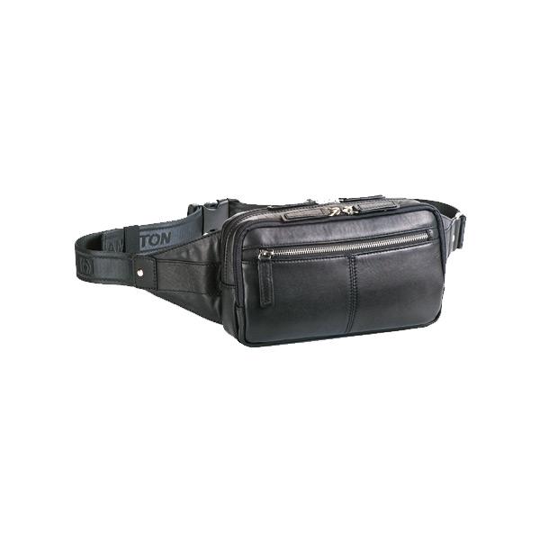 ハミルトン HAMILTON ウエストバッグ メンズ 2584201 ブラック【送料無料】