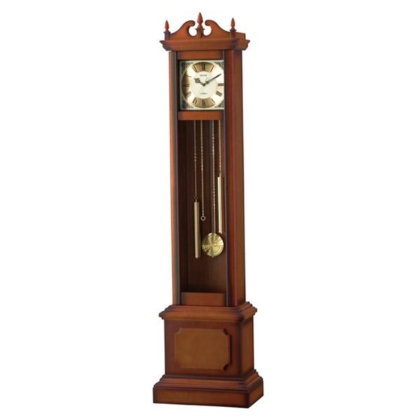リズム RHYTHM 電波置き時計 ホールクロック HiARM-419R 4RN419RH06 ブラウン【送料無料】