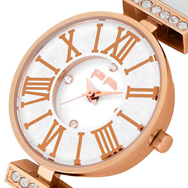 フォリフォリ ミニ ダイナスティ クオーツ レディース 腕時計 WF13B014SSW-WH【送料無料】