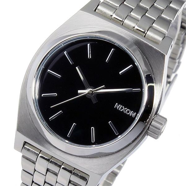 ニクソン スモール タイムテラー クオーツ レディース 腕時計 時計 A399-000 ブラック