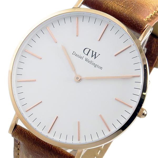 ダニエル ウェリントン クラシック ダラム/ローズ 40mm 腕時計 DW00100109【送料無料】