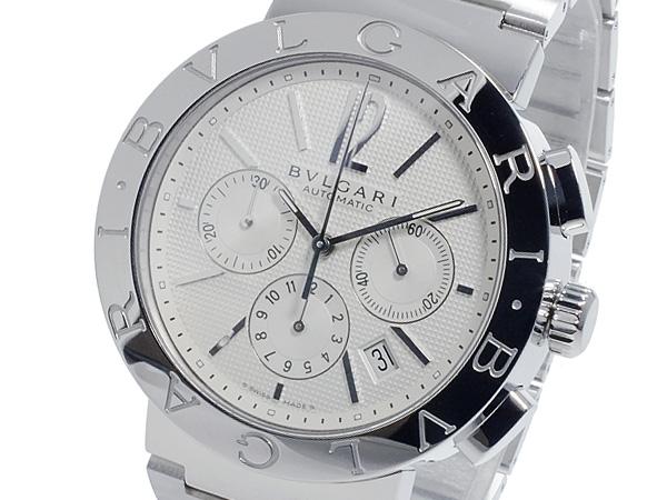 ブルガリ BVLGARI 自動巻き クロノグラフ メンズ 腕時計 BB42WSSDCH (代引き不可)【送料無料】