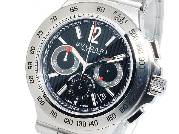 ブルガリ BVLGARI 自動巻き クロノグラフ メンズ 腕時計 DP42BSSDCH (き)【送料無料】