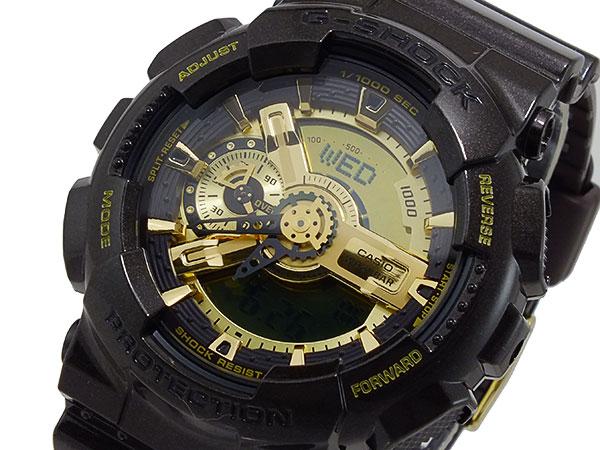カシオ CASIO Gショック ガリッシュゴールドシリーズ アナデジ メンズ 腕時計 GA-110BR-5A【送料無料】