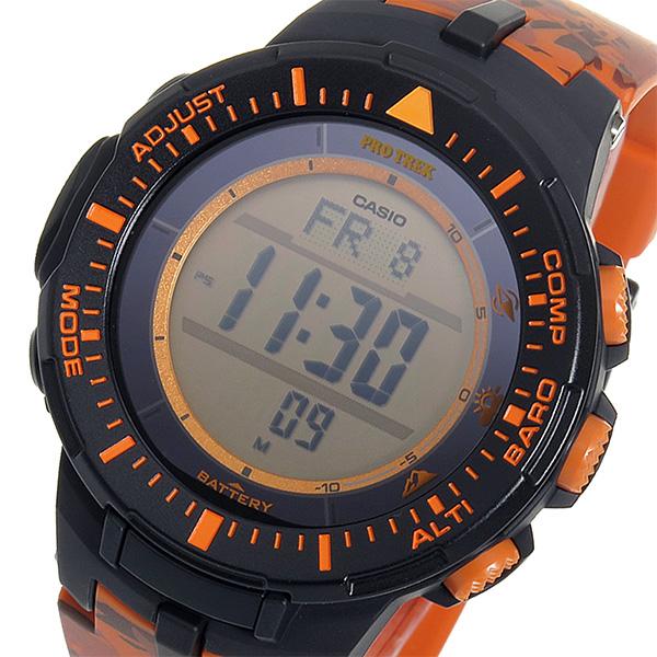 カシオ CASIO プロトレック クオーツ メンズ 腕時計 PRG-300CM-4 オレンジカモフラ【送料無料】