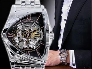 COGU コグ 腕時計 時計 自動巻き フルスケルトン BS0TM-BRG【送料無料】