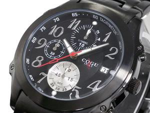 殿堂 COGU コグ COGU 腕時計 クロノグラフ DC103-BBK【送料無料 DC103-BBK【送料無料】 クロノグラフ】, JOHNBLAZE:09ce0859 --- delipanzapatoca.com