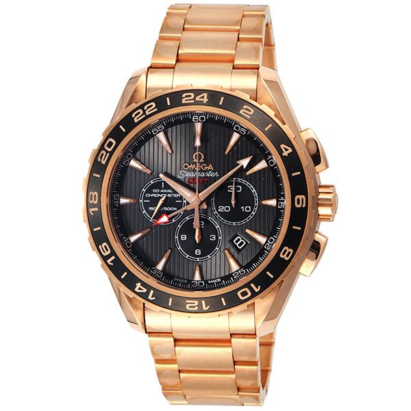 オメガ OMEGA シーマスター アクアテラ クロノ 自動巻き メンズ 腕時計 231.50.44.52.06.001 グレー【送料無料】