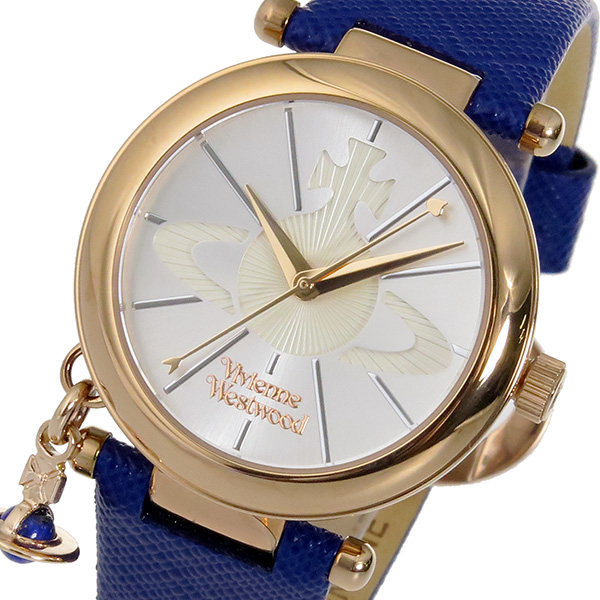 ヴィヴィアン ウエストウッド クオーツ レディース 腕時計 VV006RSBL シルバー【送料無料】