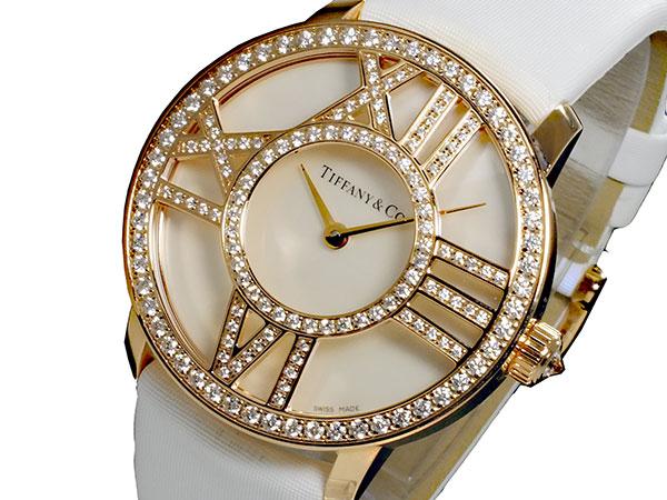 ティファニー TIFFANY&CO アトラス ATLAS クオーツ レディース 腕時計 Z1901.10.30E91A40B (き)【送料無料】