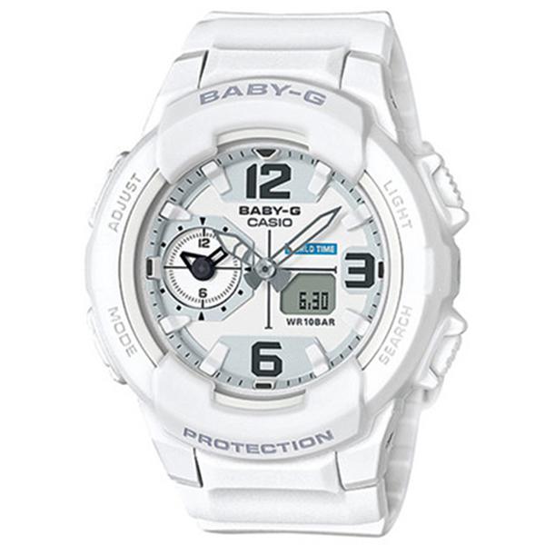 カシオ CASIO ベビーG BABY-G ミリタリースタイル クオーツ レディース 腕時計 BGA-230-7B ホワイト【送料無料】