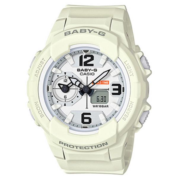 カシオ CASIO ベビーG BABY-G ミリタリースタイル クオーツ レディース 腕時計 BGA-230-7B2 ホワイト【送料無料】
