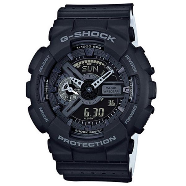 カシオ CASIO Gショック G-SHOCK パンチングパターンシリーズ メンズ 腕時計 GA-110LP-1A ブラック【送料無料】