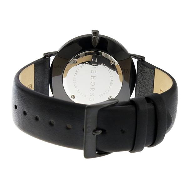 ザ ホース THE HORSE ストーンダイアル ユニセックス 腕時計 STO123-C2 ホワイトマーブル/ブラック【】【楽ギフ_包装】