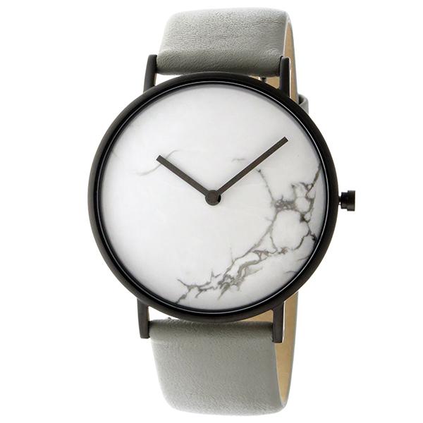ザ ホース THE HORSE ストーンダイアル ユニセックス 腕時計 STO123-C3 ホワイトマーブル/グレー【】【楽ギフ_包装】