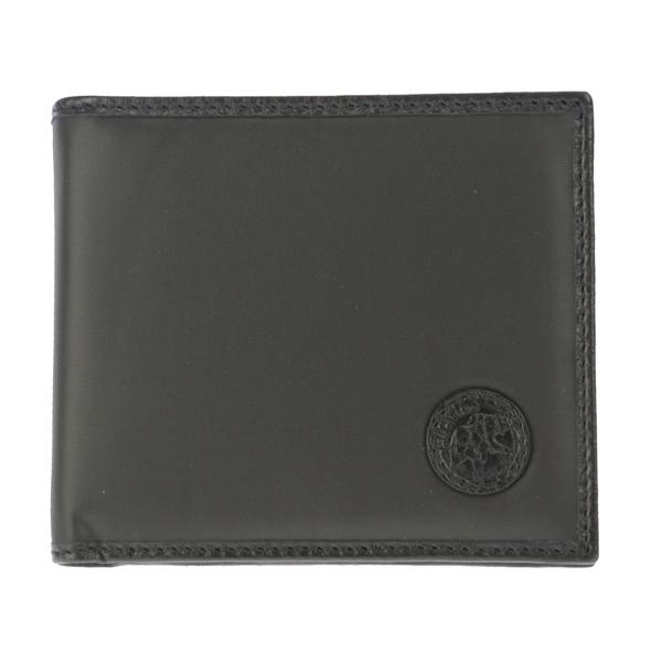 ハンティングワールド HUNTING WORLD 二つ折り 短財布 レディース 32013ABATTUEOR-BLK【送料無料】
