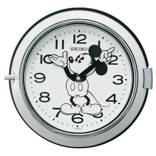 セイコー SEIKO 大人ディズニー 掛け時計 FS504W ホワイト【送料無料】