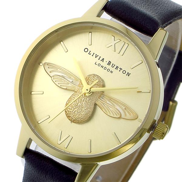 オリビアバートン OLIVIA BURTON アニマルモチーフ クオーツ レディース 腕時計 OB15AM70 ゴールド【送料無料】