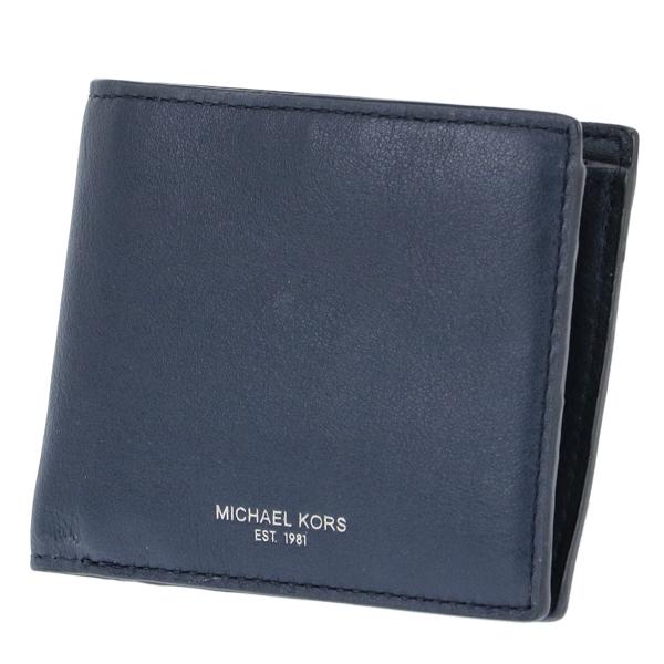 マイケル コース MICHAEL KORS 二つ折り 短財布 小銭入れ付 メンズ 39F6SOWF3L-406【送料無料】