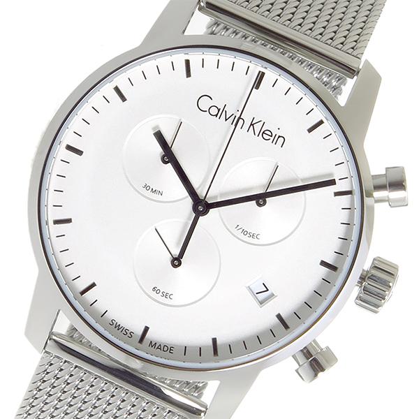 カルバン クライン CALVIN KLEIN クオーツ メンズ 腕時計 K2G27126 シルバー【送料無料】