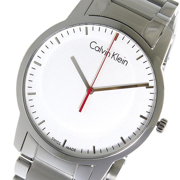 カルバン クライン CALVIN KLEIN クオーツ メンズ 腕時計 K2G2G1Z6 シルバー【送料無料】