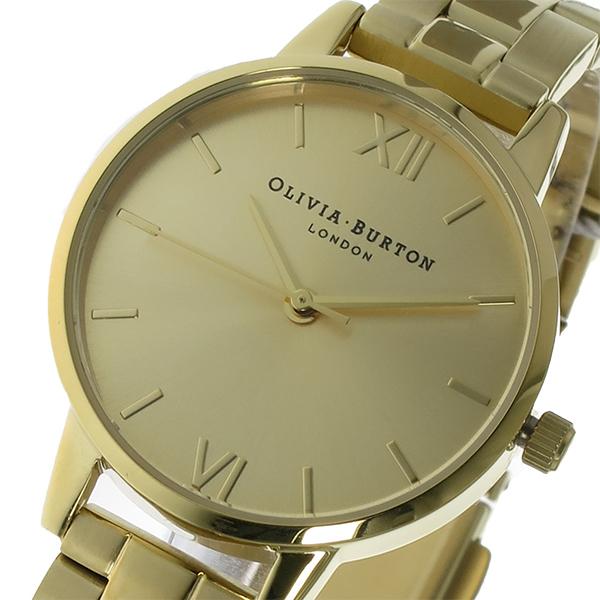 オリビアバートン OLIVIA BURTON クオーツ レディース 腕時計 OB13BL04B ゴールド【送料無料】