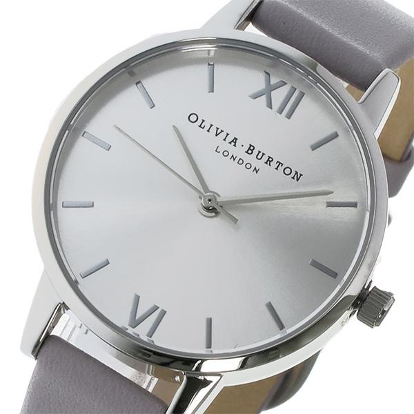 オリビアバートン OLIVIA BURTON クオーツ レディース 腕時計 OB15MD41 シルバー【送料無料】