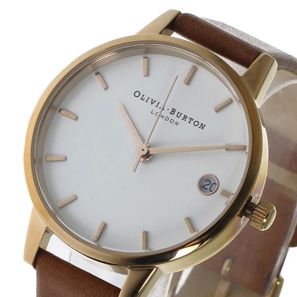 オリビアバートン OLIVIA BURTON クオーツ レディース 腕時計 OB15TD02 ホワイト【送料無料】