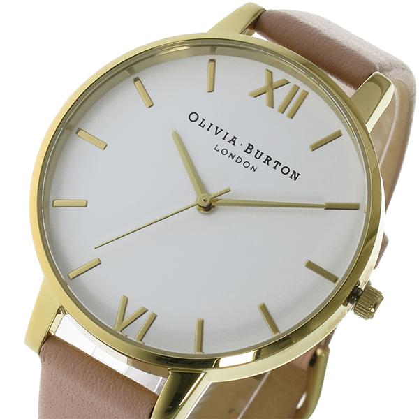 オリビアバートン OLIVIA BURTON クオーツ レディース 腕時計 OB16BDW13 ホワイト【送料無料】