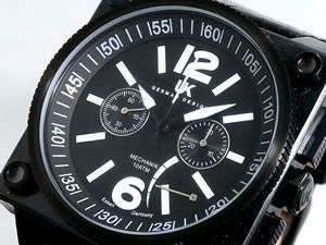 UK GERMAN DESIGN 腕時計 ヘリコップ 手巻き クロノグラフ 23413-2【送料無料】
