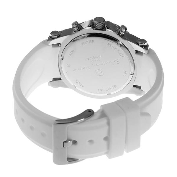 サルバトーレ マーラ クロノ クオーツ メンズ 腕時計 時計 SM16109-SSWH ホワイト【楽ギフ_包装】