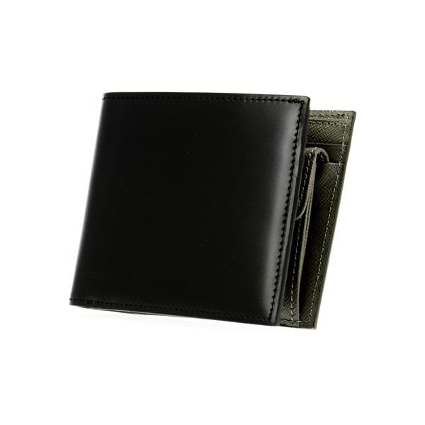 ゾンネ SONNE 二つ折り短財布 レディース SOC011RE-BLK ブラック【送料無料】
