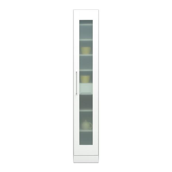 関家具 インテリア キッチン収納 30スリム収納庫 クリスタルIII 121009 【代引き不可】【送料無料】
