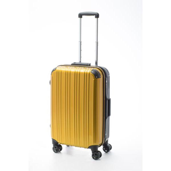アクタス ACTUS ツートン フレームハードM 旅行 トラベル スーツケース 74-20257 イエロー【送料無料】