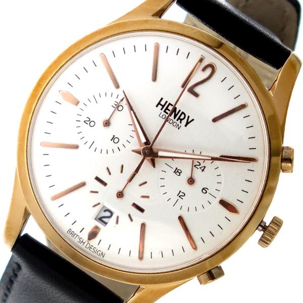 ヘンリーロンドン HENRY LONDON クオーツ ユニセックス 腕時計 HL39-CS-0036 ホワイト【送料無料】