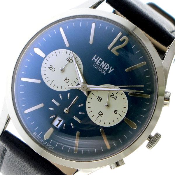 ヘンリーロンドン HENRY LONDON クオーツ メンズ 腕時計 HL41-CS-0039 ネイビー【送料無料】