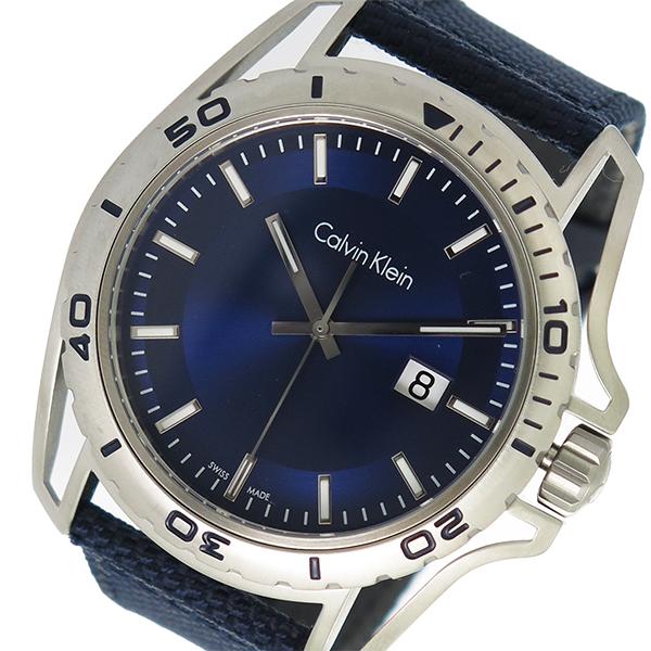 カルバンクライン CALVIN KLEIN クオーツ メンズ 腕時計 K5Y31UVN ブルー【送料無料】