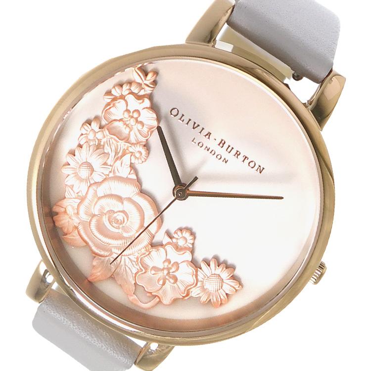 オリビアバートン OLIVIA BURTON 腕時計 OB16FS85 ライトベージュ【送料無料】
