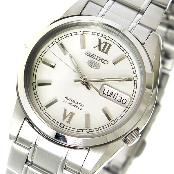 セイコー SEIKO セイコーファイブ 自動巻き メンズ 腕時計 時計 SNKL51K1 シルバー