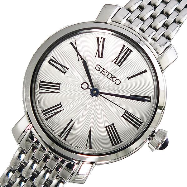 セイコー SEIKO クオーツ レディース 腕時計 SRZ495P1 ホワイト【送料無料】