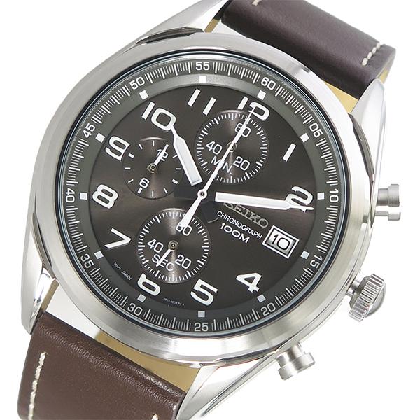セイコー SEIKO クオーツ メンズ 腕時計 SSB275P1 メタルブラウン【送料無料】